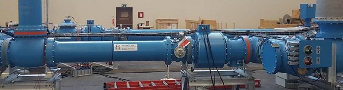 HVDC gas insulated switchgear (GIS) test prototype installation
