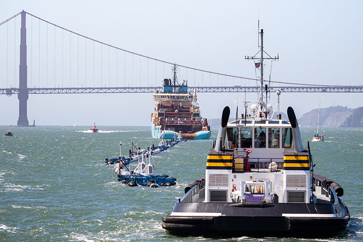 World's 1st Ocean Cleanup System Launched 9