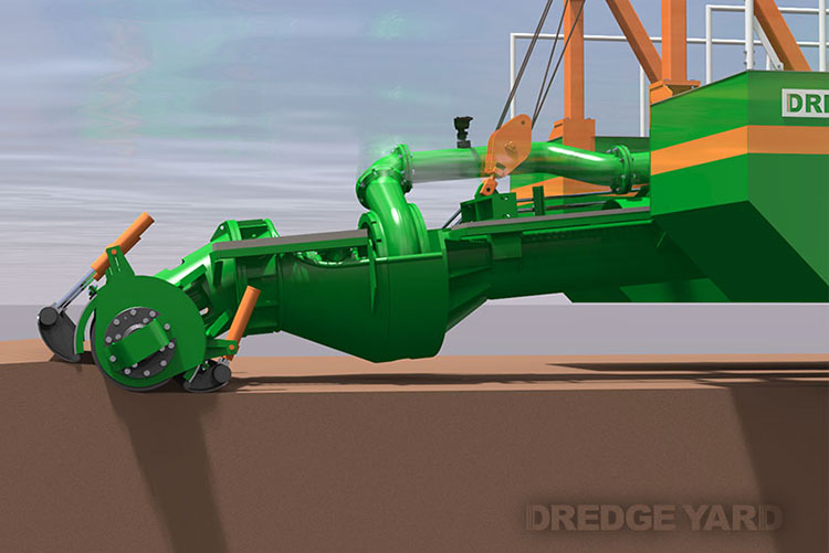 Adaptive Auger Head Introduced By Dredge Yard 13