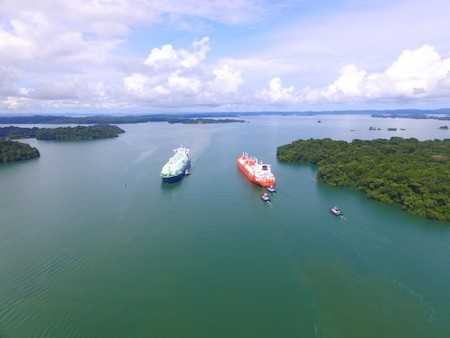 Panama Canal Transits Four LNG Vessels in One Day 7