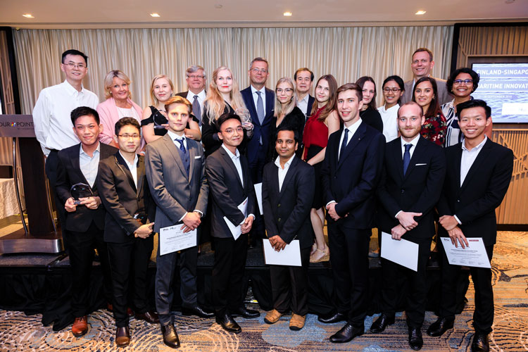 Finland-Singapore Maritime Innovation camp seeks ways to improve stevedore working conditions 5