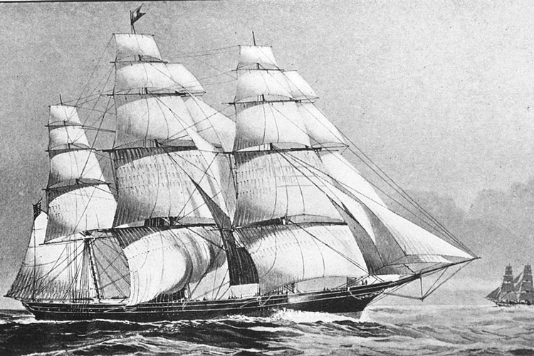 The Flying Cloud Clipper
