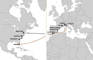 Increased service quality and efficiency with enhanced Mediterranean – U.S. East Coast service 9