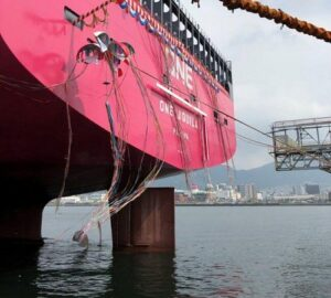 ONE Receives Delivery Of 14,000 TEU Container Ship 'Aquila' 8
