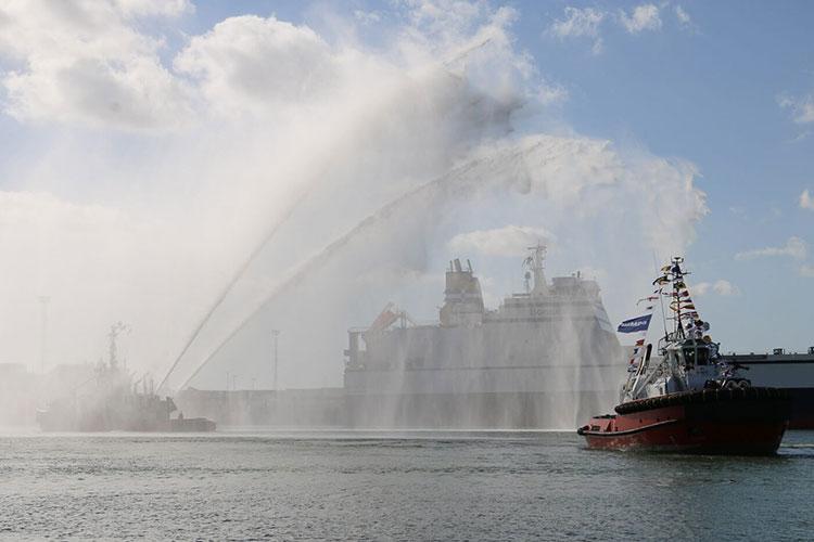 Kotug Smit Towage Performs Naming Ceremony For Tug 'Southampton' 2