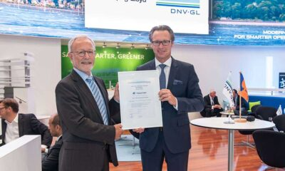 """""""DNV GL Excellence Green Star"""": Hapag-Lloyd receives certificate for ship recycling"""