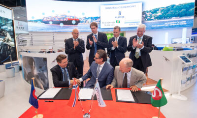 At the SMM 2018 exhibition, DNV GL partnered up with Bernhard Schulte and Ulstein for the next SOV vessel.