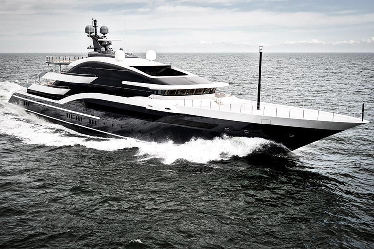 Oceanco's 90M DAR Wins Both Best Exterior Design and Finest New Superyacht Award