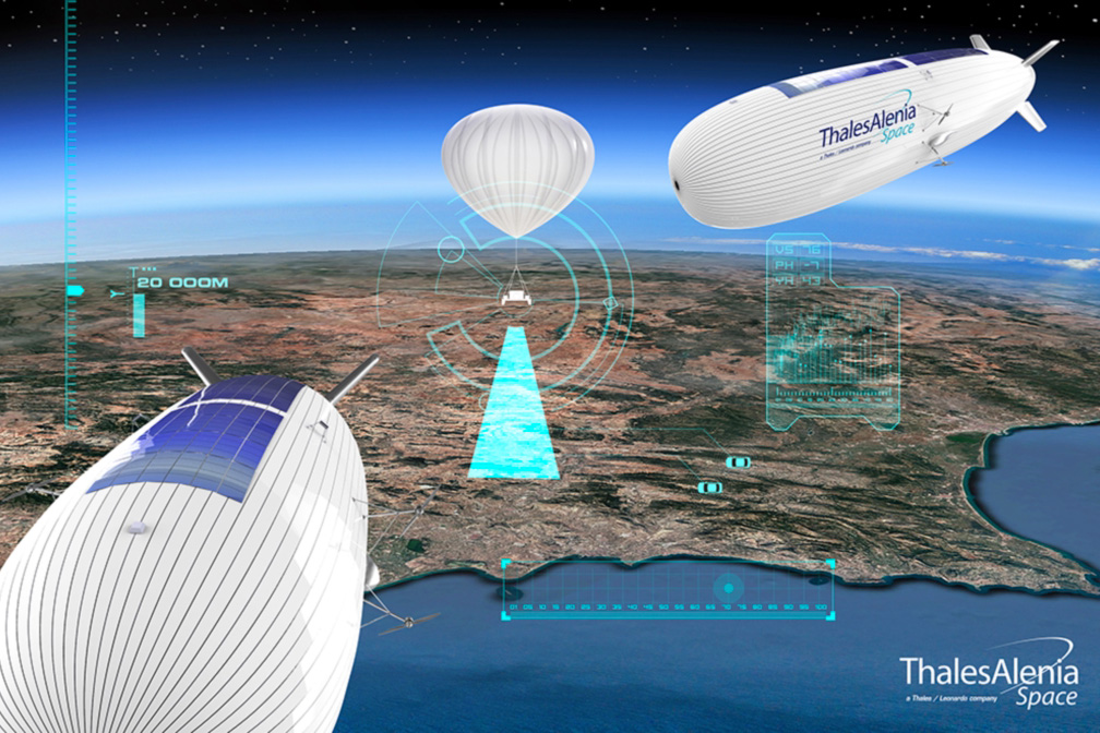 Hispasat And Thales Alenia Space Team Up On Stratospheric Balloon Demonstration For 4g/5g Telecom Applications