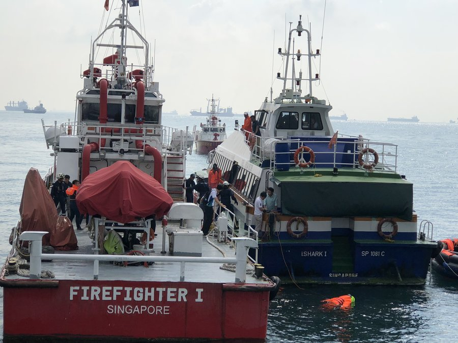Vessel to vessel transfer