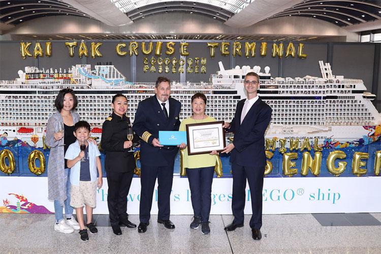 Hong Kong's Kai Tak Celebrates Two Millionth Cruise Passenger