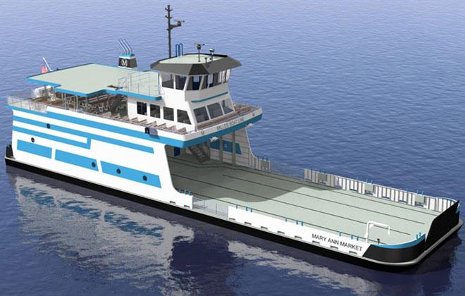Superior's Fraser Shipyards to build its largest vessel since 1966