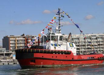 Kotug Smit Towage Performs Naming Ceremony For Tug 'Southampton' 1