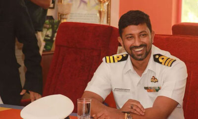 How the stranded and injured naval officer Abhilash Tomy was rescued from the Indian Ocean