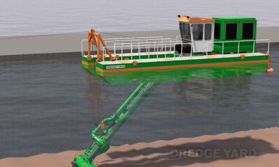 ADAPTIVE AUGER HEAD INTRODUCED BY DREDGE YARD