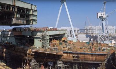 Watch Construction Of Future US Aircraft Carrier John F. Kennedy