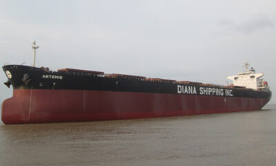 Diana Shipping Inc. Announces Time Charter Contract for m/v Artemis with Ausca