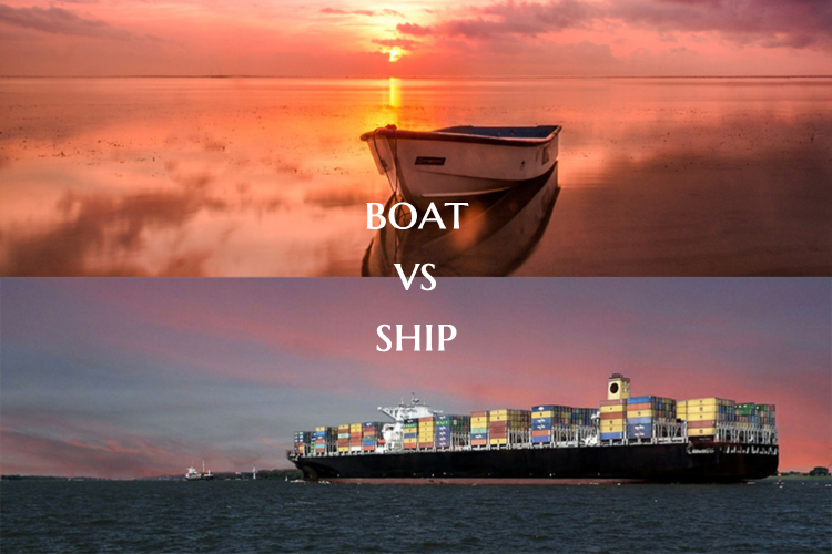 Boat vs Ship