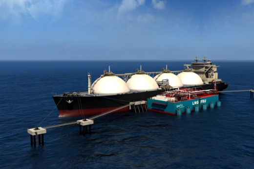 Contract signed for one of the world's first small scale LNG- FRU