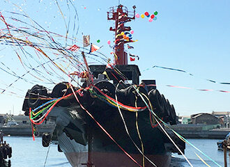 LNG-fueled Tugboat Named Ishin Earns Highest 4-star for Coastal Ship Energy Conservation Rating