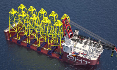 KONGSBERG to supply integrated technology for new heavy lift crane vessel