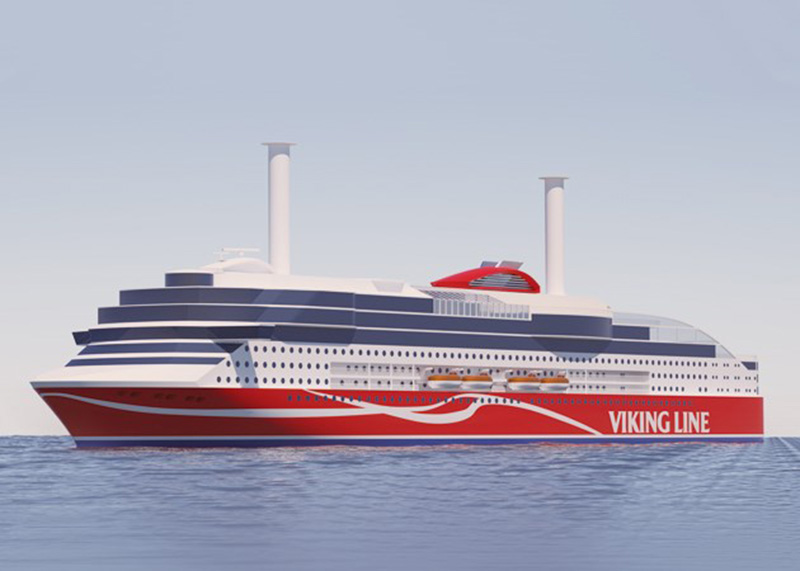 Larger and more efficient than Viking Grace