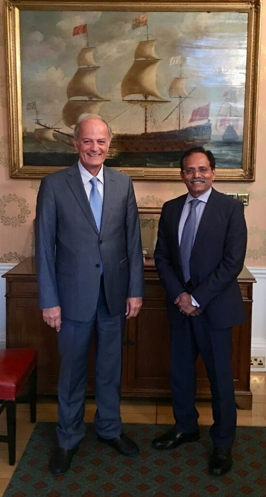 John Platsidakis, Chairman with Jay K Pillai, Vice-Chairman