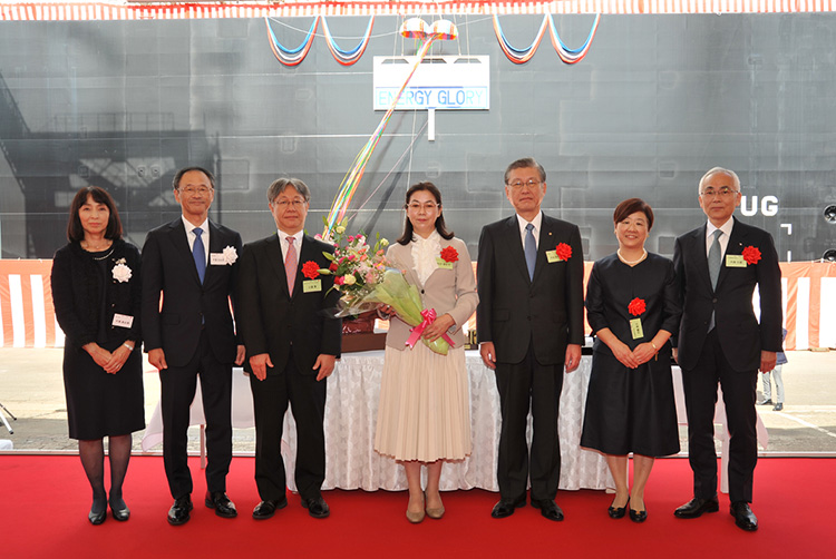 Tokyo Gas Names New LNG Vessel 'Energy Glory'