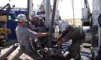 Oil Rig Roughnecks
