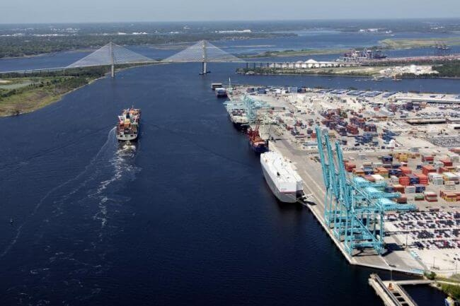 JAXPORT Sets New Monthly Container Volume Record 1