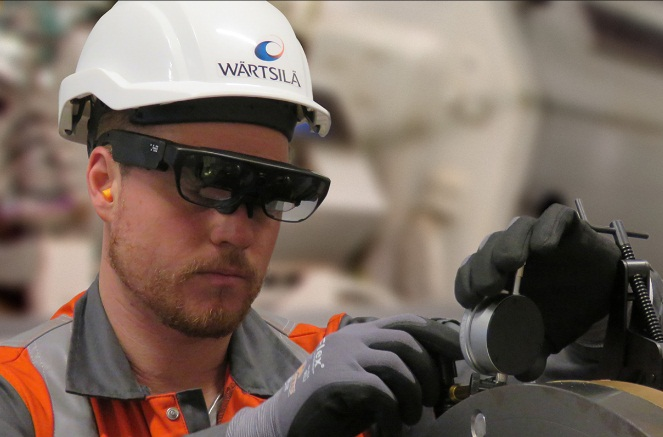 Augmented reality creates a new dimension in marine maintenance services 5