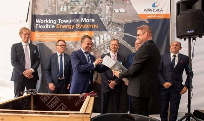 Ground-Breaking Ceremony Held For 100% Renewable Energy Powered Hamina LNG Terminal 5