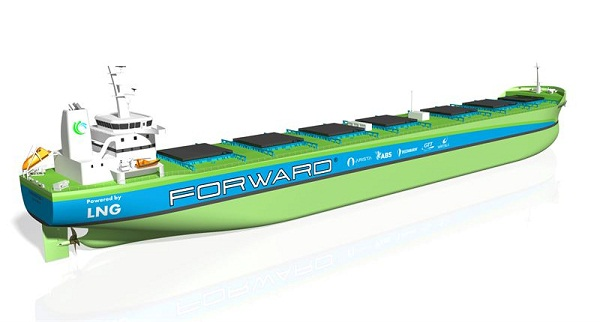 Eniram signs MoU to participate in Project Forward for developing new generation of bulk carriers 5