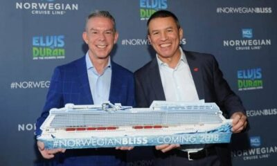 Norwegian Cruise Line Names Top On-Air Personality, Elvis Duran, as Godfather for Its Newest Ship, Norwegian Bliss 22