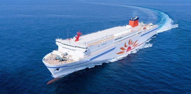 "MOL Launches New Large-Scale Ferry ""Sunflower Kirishima"" 1"