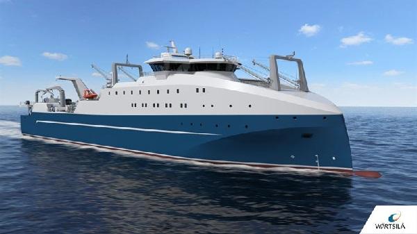 Wärtsilä Ship Design enables unique capabilities for new factory fishing trawler 1