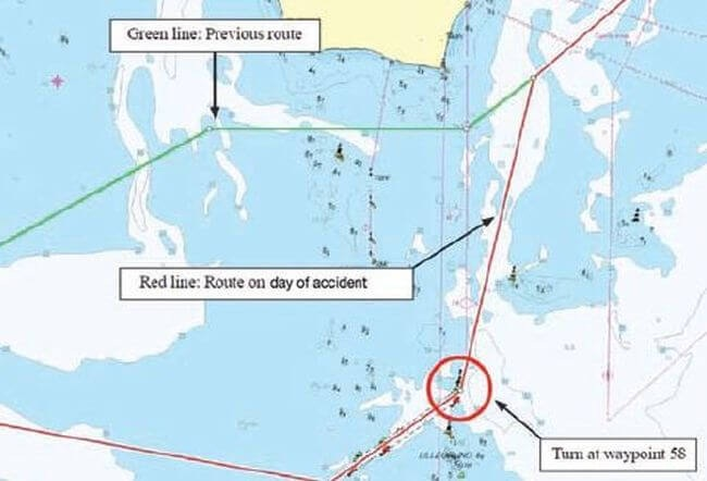 Real Life Incident: Ship Touches Seabed, Hull Breached At Several Places 1