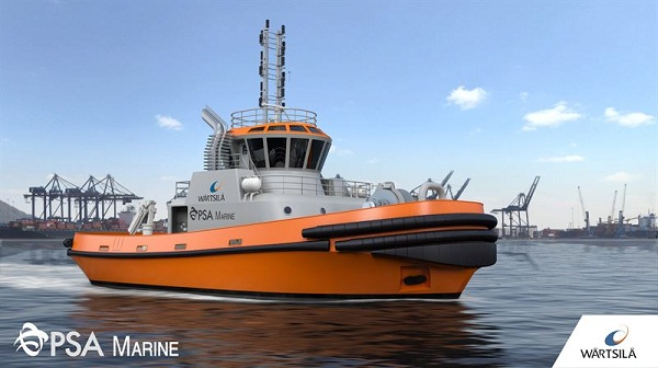 PSA Marine's new LNG-fuelled harbour tug to be designed and equipped by Wärtsilä 5