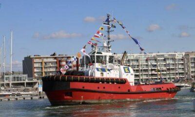 Kotug Smit Towage Names Newly- Built Damen Tug 'Southampton' 8