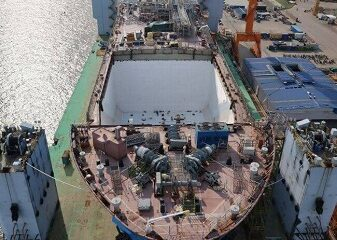 First Of Its Type Mid Sized 45,000m3 LNGC Being Built For Saga LNG Shipping 6