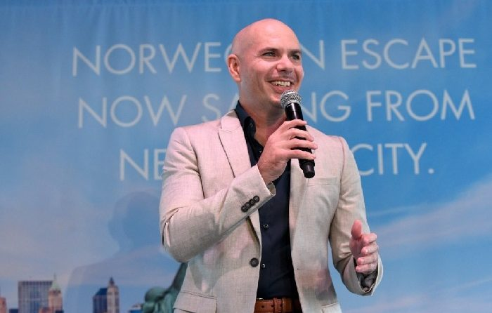 Pitbull and Norwegian Cruise Line Celebrate Norwegian Escape's Arrival to NYC in Spring 2018 1