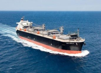 NYK And Hokuetsu Receive Delivery Of New Wood-Chip Carrier 7