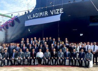 Ice-Breaking LNG Carrier For Yamal LNG Project Named 'Vladimir Vize' 6