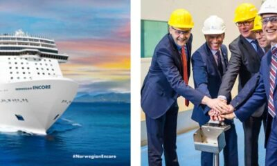 Norwegian Cruise Line Celebrates First Construction Milestone for Newest Ship 19