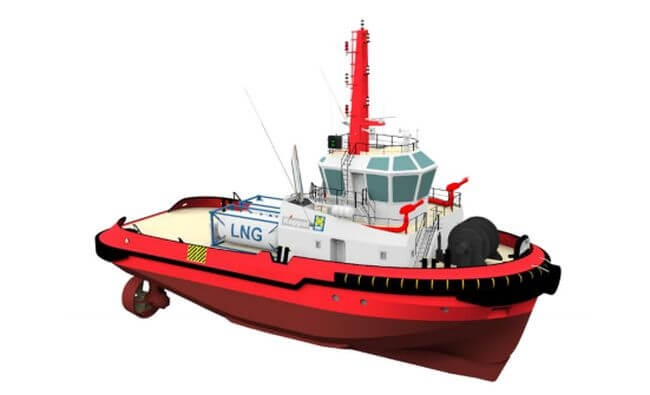 Keppel Delivers Its Second LNG-Powered Vessel To Keppel Smit Towage Singapore 1