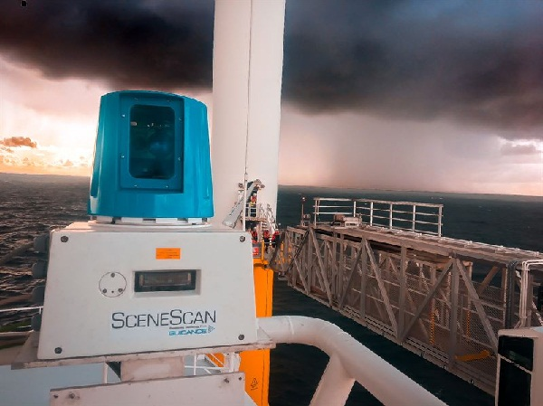 Wärtsilä launches SceneScan, the first targetless laser sensor for offshore wind farms 1