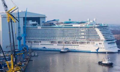 Norwegian Cruise Line Announces Float Out Of Norwegian Bliss 15