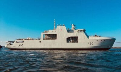 Halifax Shipyard Launches Canada's Lead Arctic And Offshore Patrol Vessel 5