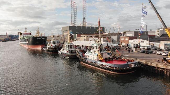 Iskes Towage Names Twin Damen ASD Tugs At Its 50th Anniversary 5
