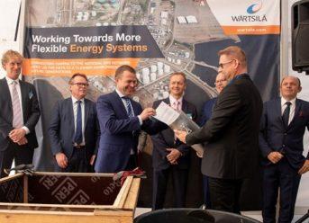 Ground-breaking ceremony held for Wärtsilä built Hamina LNG terminal 7